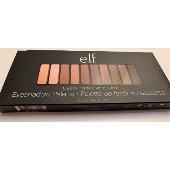 ELF Other - NEW!! ELF Mad for Matte Eyeshadow Palette